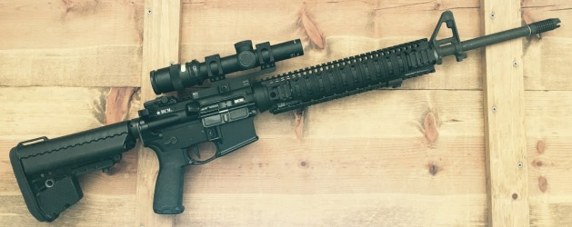 "20"" AR with A5 and AFAB 556"